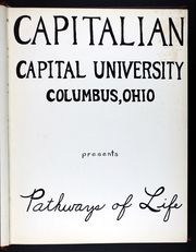 Page 7, 1958 Edition, Capital University - Capitalian Yearbook (Columbus, OH) online yearbook collection