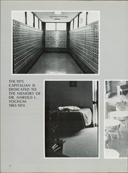 Page 6, 1975 Edition, Capital University - Capitalian Yearbook (Columbus, OH) online yearbook collection