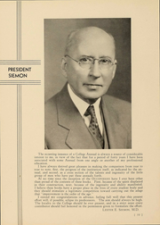 Page 11, 1935 Edition, Ohio College of Podiatric Medicine - Occopodian Yearbook (Cleveland, OH) online yearbook collection