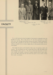 Page 13, 1935 Edition, Ohio College of Podiatric Medicine - Occopodian Yearbook (Cleveland, OH) online yearbook collection