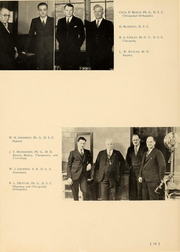 Page 15, 1935 Edition, Ohio College of Podiatric Medicine - Occopodian Yearbook (Cleveland, OH) online yearbook collection