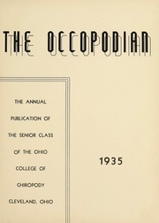 Page 4, 1935 Edition, Ohio College of Podiatric Medicine - Occopodian Yearbook (Cleveland, OH) online yearbook collection