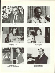 Page 13, 1973 Edition, Ohio College of Podiatric Medicine - Occopodian Yearbook (Cleveland, OH) online yearbook collection