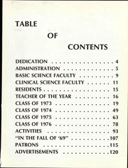 Page 9, 1973 Edition, Ohio College of Podiatric Medicine - Occopodian Yearbook (Cleveland, OH) online yearbook collection