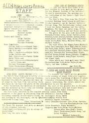 Allen County Childrens Home - ACCH Highlights (Lima, OH) online yearbook collection, 1941 Edition, Page 12