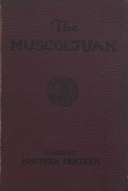 1918 Edition, Muskingum University - Muscoljuan Yearbook (New Concord, OH)