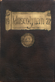 1922 Edition, Muskingum University - Muscoljuan Yearbook (New Concord, OH)