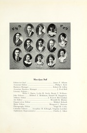 Page 15, 1923 Edition, Muskingum University - Muscoljuan Yearbook (New Concord, OH) online yearbook collection