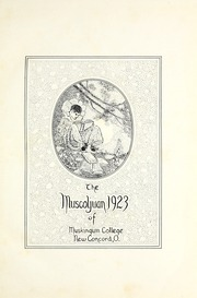 Page 7, 1923 Edition, Muskingum University - Muscoljuan Yearbook (New Concord, OH) online yearbook collection