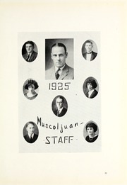 Page 17, 1925 Edition, Muskingum University - Muscoljuan Yearbook (New Concord, OH) online yearbook collection