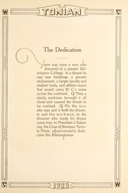 Page 11, 1923 Edition, Wilmington College - Wilmingtonian Yearbook (Wilmington, OH) online yearbook collection