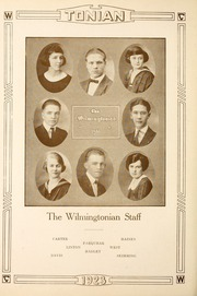 Page 14, 1923 Edition, Wilmington College - Wilmingtonian Yearbook (Wilmington, OH) online yearbook collection