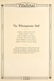 Page 15, 1923 Edition, Wilmington College - Wilmingtonian Yearbook (Wilmington, OH) online yearbook collection