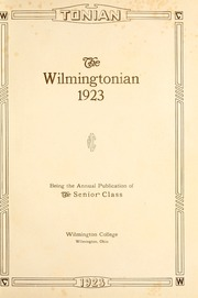 Page 7, 1923 Edition, Wilmington College - Wilmingtonian Yearbook (Wilmington, OH) online yearbook collection