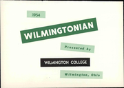 Page 7, 1954 Edition, Wilmington College - Wilmingtonian Yearbook (Wilmington, OH) online yearbook collection