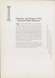Page 10, 1941 Edition, Cincinnati Bible Seminary - Nautilus Yearbook (Cincinnati, OH) online yearbook collection