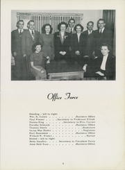 Page 13, 1950 Edition, Cincinnati Bible Seminary - Nautilus Yearbook (Cincinnati, OH) online yearbook collection
