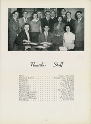 Page 7, 1950 Edition, Cincinnati Bible Seminary - Nautilus Yearbook (Cincinnati, OH) online yearbook collection
