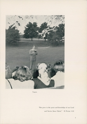 Page 11, 1951 Edition, Cincinnati Bible Seminary - Nautilus Yearbook (Cincinnati, OH) online yearbook collection