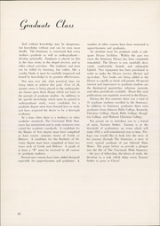 Page 14, 1951 Edition, Cincinnati Bible Seminary - Nautilus Yearbook (Cincinnati, OH) online yearbook collection