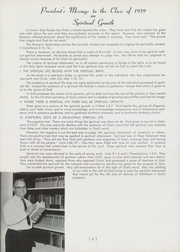 Page 10, 1959 Edition, Cincinnati Bible Seminary - Nautilus Yearbook (Cincinnati, OH) online yearbook collection