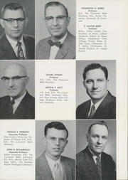 Page 13, 1959 Edition, Cincinnati Bible Seminary - Nautilus Yearbook (Cincinnati, OH) online yearbook collection