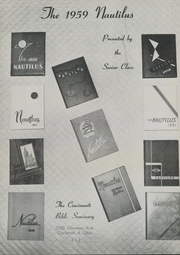 Page 5, 1959 Edition, Cincinnati Bible Seminary - Nautilus Yearbook (Cincinnati, OH) online yearbook collection