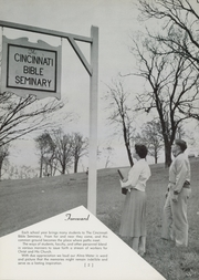 Page 6, 1959 Edition, Cincinnati Bible Seminary - Nautilus Yearbook (Cincinnati, OH) online yearbook collection