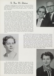 Page 8, 1959 Edition, Cincinnati Bible Seminary - Nautilus Yearbook (Cincinnati, OH) online yearbook collection