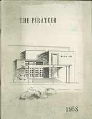 1958 Edition, Perkins Junior High School - Pirateer Yearbook (Sandusky, OH)
