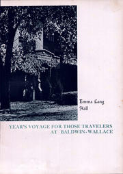 Page 15, 1936 Edition, Baldwin Wallace University - Grindstone Yearbook (Berea, OH) online yearbook collection
