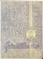 1952 Edition, Baldwin Wallace University - Grindstone Yearbook (Berea, OH)