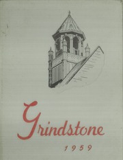 1959 Edition, Baldwin Wallace University - Grindstone Yearbook (Berea, OH)