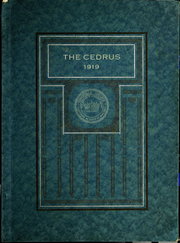 Page 1, 1919 Edition, Cedarville University - Cedrus Yearbook (Cedarville, OH) online yearbook collection