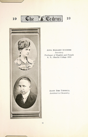 Page 15, 1919 Edition, Cedarville University - Cedrus Yearbook (Cedarville, OH) online yearbook collection