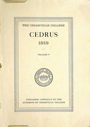 Page 3, 1919 Edition, Cedarville University - Cedrus Yearbook (Cedarville, OH) online yearbook collection
