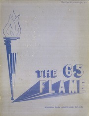 Page 1, 1965 Edition, Johnson Park Junior High School - Flame Yearbook (Columbus, OH) online yearbook collection