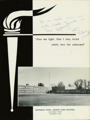 Page 5, 1965 Edition, Johnson Park Junior High School - Flame Yearbook (Columbus, OH) online yearbook collection