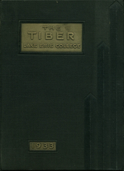1933 Edition, Lake Erie College - Tiber Yearbook (Painesville, OH)