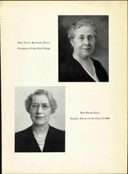 Page 13, 1938 Edition, Lake Erie College - Tiber Yearbook (Painesville, OH) online yearbook collection