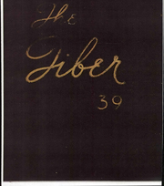 1939 Edition, Lake Erie College - Tiber Yearbook (Painesville, OH)