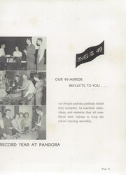 Page 15, 1949 Edition, Pandora Gilboa High School - Mirror Yearbook (Pandora, OH) online yearbook collection
