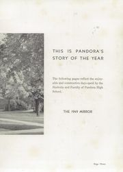 Page 7, 1949 Edition, Pandora Gilboa High School - Mirror Yearbook (Pandora, OH) online yearbook collection