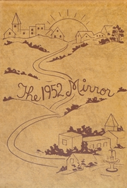 Page 1, 1952 Edition, Pandora Gilboa High School - Mirror Yearbook (Pandora, OH) online yearbook collection