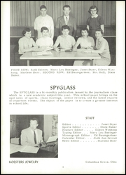 Page 12, 1955 Edition, Pandora Gilboa High School - Mirror Yearbook (Pandora, OH) online yearbook collection