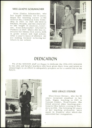 Page 8, 1955 Edition, Pandora Gilboa High School - Mirror Yearbook (Pandora, OH) online yearbook collection