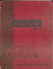 1959 Edition, Salem Junior High School - Quakerette Yearbook (Salem, OH)