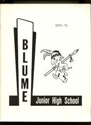 1973 Edition, Blume Junior High School - Yearbook (Wapakoneta, OH)