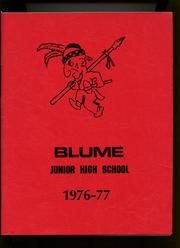 Page 1, 1977 Edition, Blume Junior High School - Yearbook (Wapakoneta, OH) online yearbook collection