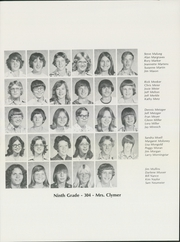 Page 17, 1977 Edition, Blume Junior High School - Yearbook (Wapakoneta, OH) online yearbook collection